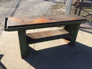 Cast Iron Oil Grooved Drill Table 29338