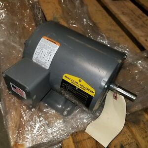 Baldor Reliance M3115 1hp 3 phase Electric Motor