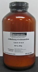 2 methoxy 4 nitroaniline 98 500g