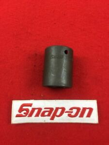 Snap On Im340 1 2 Drive 6 Point Sae 1 1 16 Shallow Impact Socket Usa