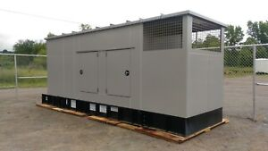 2014 Kohler 200kw Diesel Generator Set And Transfer Switch Only 92 Hours