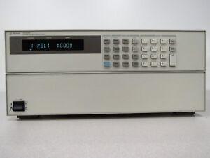 Hp Agilent Keysight N3300a 1800 Watt Electronic Load Mainframe