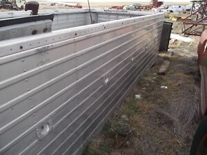 Aluminum Sided Truck Bed