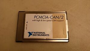 National Instruments Pcmcia can 2 Pc Card 2 port Can Interface 184272e 02