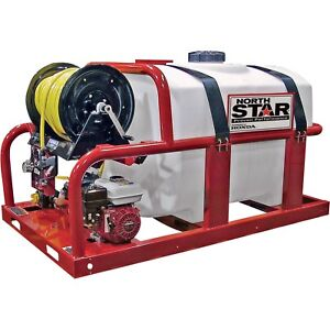 Northstar Skid Sprayer With Trailer 200 Gallon new Never Used