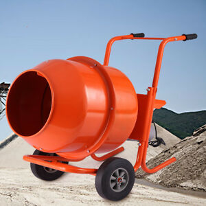 5 Cubic Tall Cement Mixer Portable Concrete Mixing Motar Mixer
