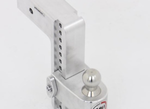Weigh Safe 180 Hitch 2 ball Mount W Stainless Steel Balls ltb4 2