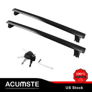 For 11 18 Jeep Grand Cherokee Car Top Roof Rack Cross Bar Cargo Luggage Baggage