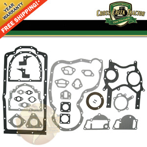 747191m91 Massey Ferguson Tractor Bottom Gasket Set 175 180 255 265 261 270