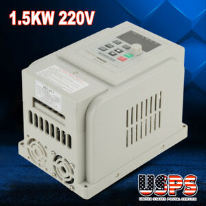 220v 8a 1 5kw Vfd Variable Frequency Drive Inverter Speed Controller Converter S