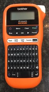 Brother P touch Edge Pt e105 Electrical Cable And Wiring Label Maker see Pics