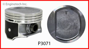 Engine Piston Set Enginetech P3071 6 std Fits 97 06 Jeep Wrangler 4 0l l6