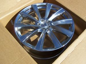New 18 2019 Volvo Xc90 21 Turbine Wheel Oem Rim 9jx21 10 Spoke Polished Alloy