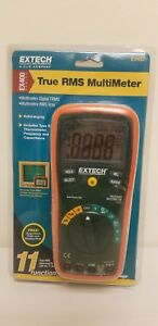Extech Ex430 True Rms Autoranging Multimeter 11 Functions New