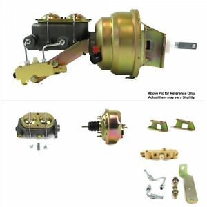 1961 64 Ford Truck Firewall Mount Power 7 Single Brake Booster Kit Disc drum