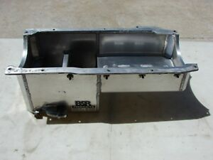 Used Bsr Ford 351 Cleveland Fabricated Aluminum Rear Sump Oil Pan