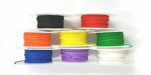 8 Color Assortment 26awg Solid Kynar Insulated Electronic Hobby Or Crafts Wire