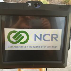 Ncr 7403 Model 1200 All in one Pos System Terminal Celeron 1 9ghz Cpu 2gb No Hdd