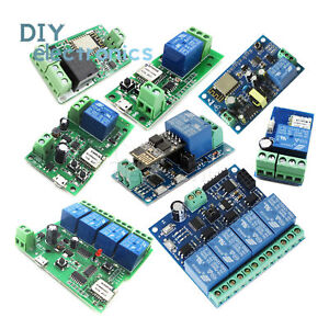 Esp8266 Relay Module Wifi Relay Switch Remote Control Timer App Smart Home Us