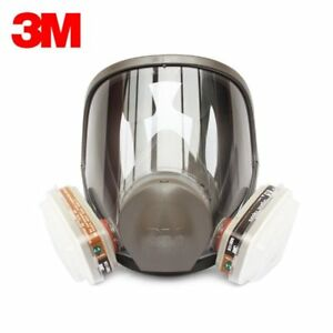 Original 3m 6800 Full Face Vapor Dust Mask Respirator 6800 Spray Paint Dk