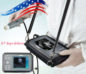 Portable Veterinary Ultrasound Scanner 3 5mhz Probe Transducer Pet dog Promotion