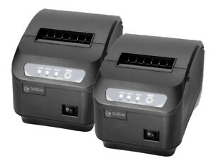 2 3nstar 80mm Pos Thermal Receipt Printer Rpt005 Usb Serial For Aldelo Pcamerica