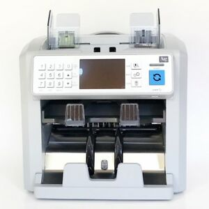 Mixed Denomination Currency Counter And Sorter By Digital File 2 yr Warranty