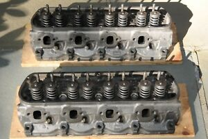 Original 1965 Ford Mustang 289 Cylinder Heads 5f4 5f7 Date Codes