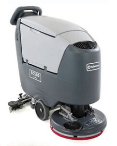 Advance Sc500 Rev Floor Scrubber Wet Batteries