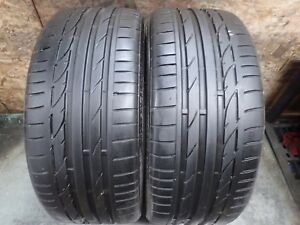 2 235 35 20 88y Bridgestone Potenza S001 Tires 8 8 5 32 No Repairs 1712