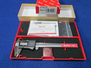 Starrett Ec799a 6 150 0 6 Digital Caliper New