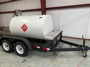 Fuel Trailer 500 Gallon Tank