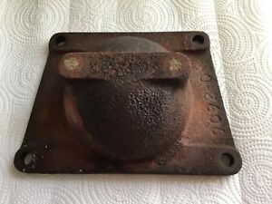 Ih Farmall Super A B C Av 100 130 140 Pto Delete Plate Cover Part 9092d