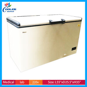 Haier Commercial Deep Chest Freezer 60c For Tuna Seafood Sashimi Sushi 351l New
