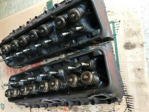 1960 1961 Chevy Corvette 283 Cylinder Heads 3774692 Power Pack E91