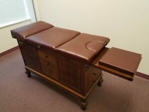 1930 s Antique Chiropractic Examination Table Hamilton Medical Great Condition