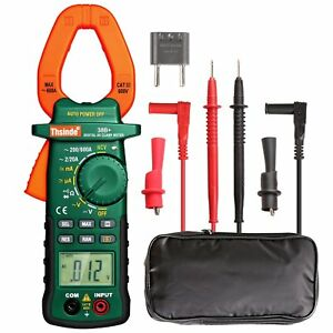 Digital Clamp Meter Multimeter Tester Ac dc Volt Amp Rms Auto Ranging Thsinde