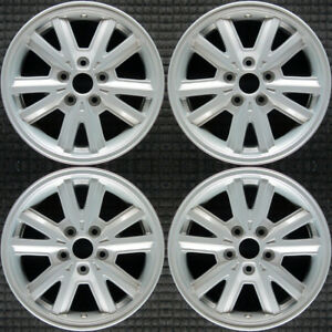 Set 2005 2006 2007 2008 2009 Ford Mustang Oem Factory Silver Wheels Rims 3587