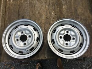 Reproduction Porsche 914 51 2jx15 Steel Wheels