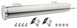 Stainless Steel Over Flow Tank 2x11 16oz Radiator Polished New Camaro Chevelle