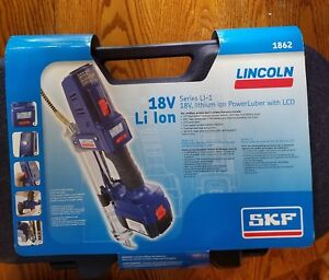 Lincoln 1862 Lithium ion Battery Operated Grease Gun Kit