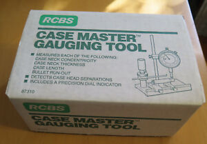 RCBS Case Master Gauging Tool - New Old Stock