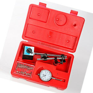Dial Indicator W Magnetic Base Point Precision Inspection Set Tr72020