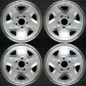 Set 1994 2000 Chevy Isuzu Blazer Hombre Jimmy S15 S10 Sonoma Wheels Rims 5028