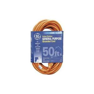 Ge r Jashep51926 1 outlet Indoor outdoor Extension Cord 50ft