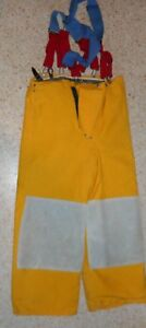 Janesville 34x30 Pants With Liner Firefighter Turnout Bunker Gear Body Guard