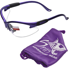 Cougar Purple Safety Glasses Various Lens Options Including Photochromic