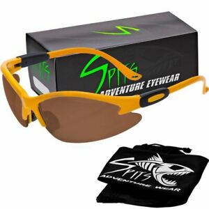 Cougar Safety Glasses Yellow Frame Clear Smoke Yellow Mirrored And Photochro