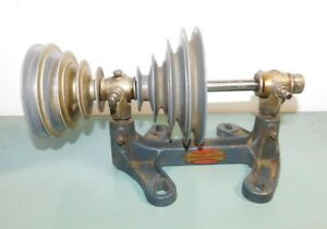 Craftsman Companion Dunlap Lathe Counter Shaft Jack Drive With Step Pulleys