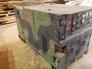 Military Diesel Generator 10kw Mep 803a 120 208 240v 60hz 1 3 Phase Backup Power